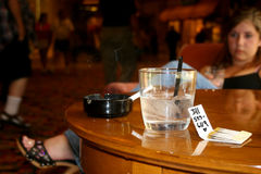 Scène de bar. Photo stock