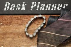 Scène de bijoux et de cravate Image libre de droits