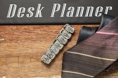 Scène de bijoux et de cravate Photo libre de droits