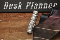 Scène de bijoux et de cravate Photographie stock