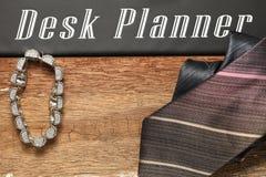 Scène de bijoux et de cravate Photographie stock libre de droits
