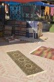 Scène de boutique de tapis Photographie stock
