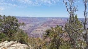 Scène de canyon grand images stock