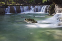 Scène de cascade Photo libre de droits
