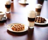 Scène de Coffeebar photo libre de droits