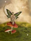 Scène de conte de fées Image libre de droits
