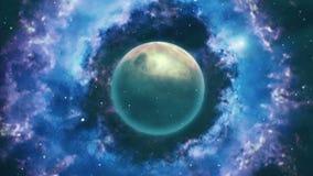 Scène de cosmos illustration de vecteur