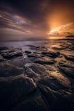 Scène de coucher du soleil, mamie Canaria Photographie stock