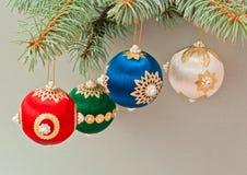 Scène de décorations de Noël photos stock