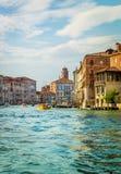 Scène de Grand Canal, Venise Image stock