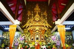 Scène de hall de temple photos stock