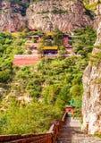 Scène de Hengshan de montagne (grande montagne du nord). Photographie stock libre de droits