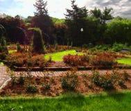 Scène de jardin Photo libre de droits