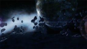 Scène de l'espace