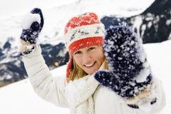 Scène de l'hiver photo stock