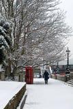 Scène de l'hiver, Londres, unie images libres de droits