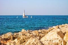 Scène de la mer Méditerranée Photographie stock libre de droits