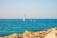 Scène de la mer Méditerranée Photo libre de droits