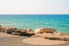 Scène de la mer Méditerranée Photos stock