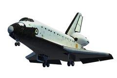 Scène de la navette spatiale Landing Photographie stock