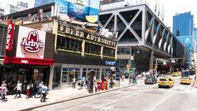 Scène de la vie urbaine à New York City Photographie stock