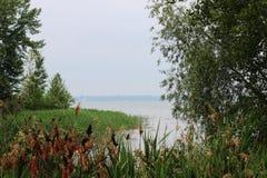 Scène de lac michigan Image libre de droits
