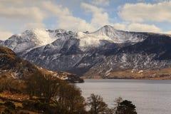 Scène de lac winter Images libres de droits