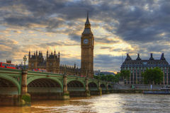 Scène de Londres Photographie stock