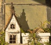 Scène de maison de vacances attendant la partie Photographie stock libre de droits