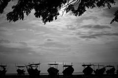 Scène de matin à la Côte Est Malaisie Images libres de droits