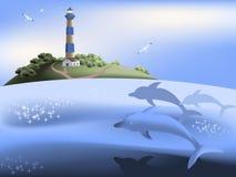 Scène de mer Photo stock