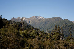 Scène de montagne Photographie stock libre de droits