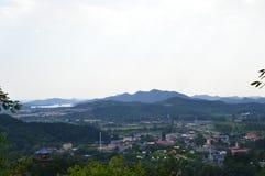 Scène de montagne Photo stock