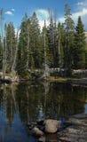 Scène de montagnes d'Uinta - lacs Image stock