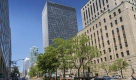 Scène de Montréal image libre de droits