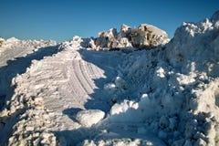Scène de neige Image libre de droits