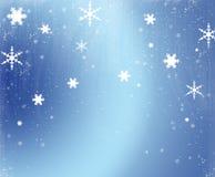 Scène de neige Photos stock