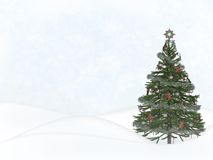 Scène de Noël Photos stock