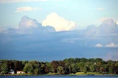 Scène de nuage Image libre de droits