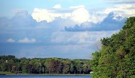 Scène 2 de nuage Images stock