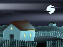 Scène de nuit Photographie stock