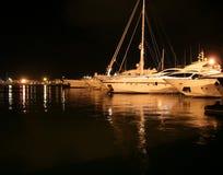 Scène de nuit dans Ibiza Photos stock