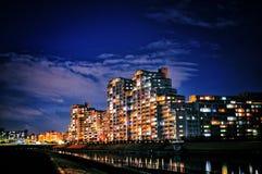 Scène de nuit de Tokyo Photographie stock libre de droits