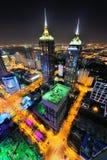 Scène de nuit de ville de PETITE GORGÉE de Suzhou Photo stock