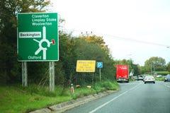 Scène de panneau routier photo libre de droits