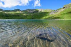 Scène de paysage d'abord à Grindelwald, Bernese Oberland, Swi Images libres de droits