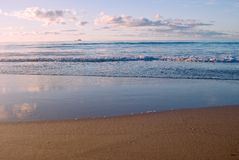 Scène de plage Images stock