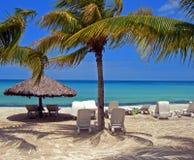 Scène de plage Photos libres de droits