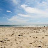 Scène de plage Images libres de droits