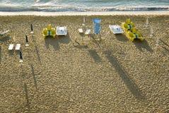 Scène de plage, Bulgarie Photo libre de droits